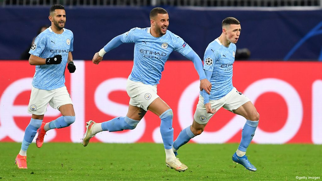 Manchester City qualified to the semi-finals although Dortmund makes it interesting |  UEFA Champions League 2020/2021
