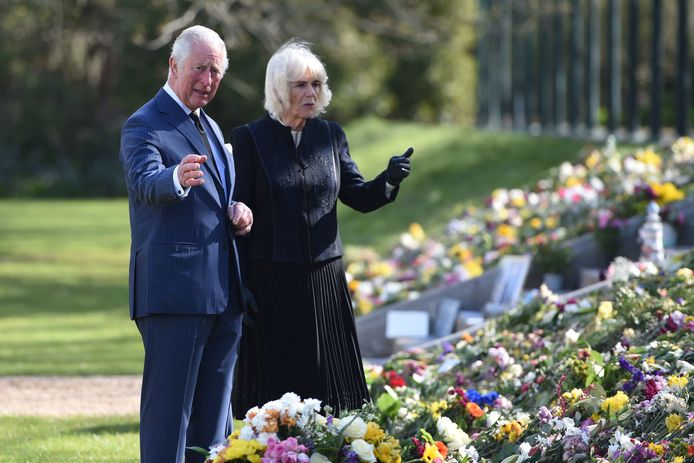 Charles and Camilla were affected by many statements of support from people