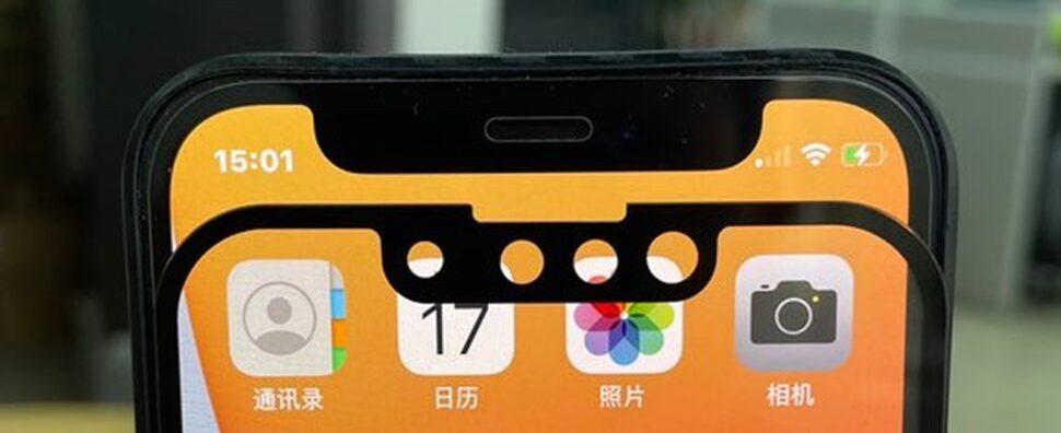 iphone 13 notch small