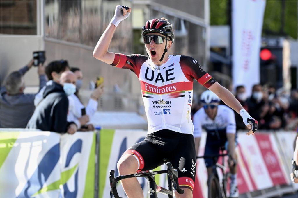 Pogacar wins Liège-Bastogne-Liège after sprinting with the elite group