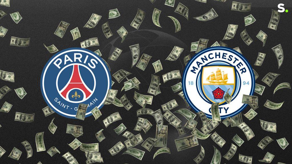 'Cash Clash': The Crazy Numbers Behind Paris Saint-Germain-City, The Three Billion Match |  Champions League