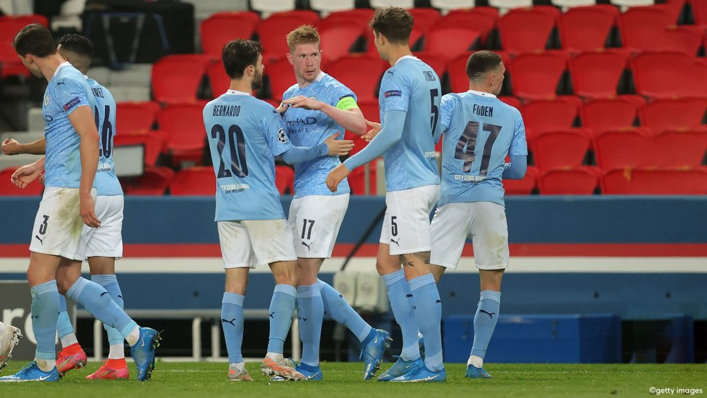 Manchester City Can Already Smell The CL Final, De Bruyne Scores In Paris With Luck |  UEFA Champions League 2020/2021