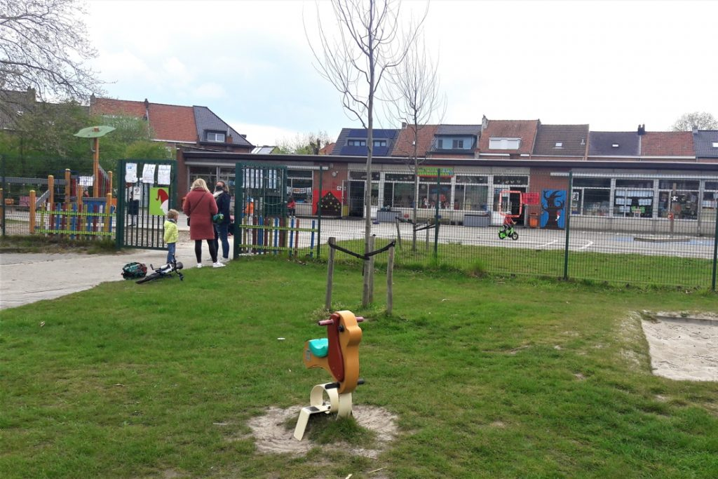 Neighboring Boskabouters School will provide a place for ... (Hemiksem)