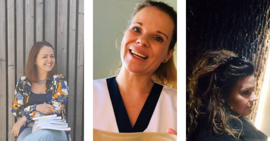 """Anja, Wendy and Yvette went to study again because of Corona: """"Not because you made the wrong choice, it ended up"""" 
