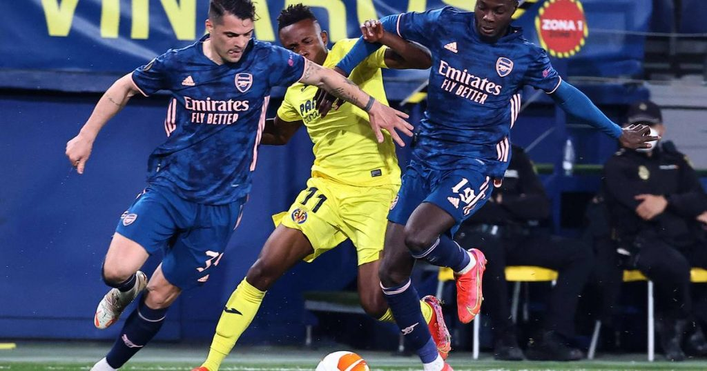 Arsenal must work hard in the second leg after defeat to Villarreal  European League