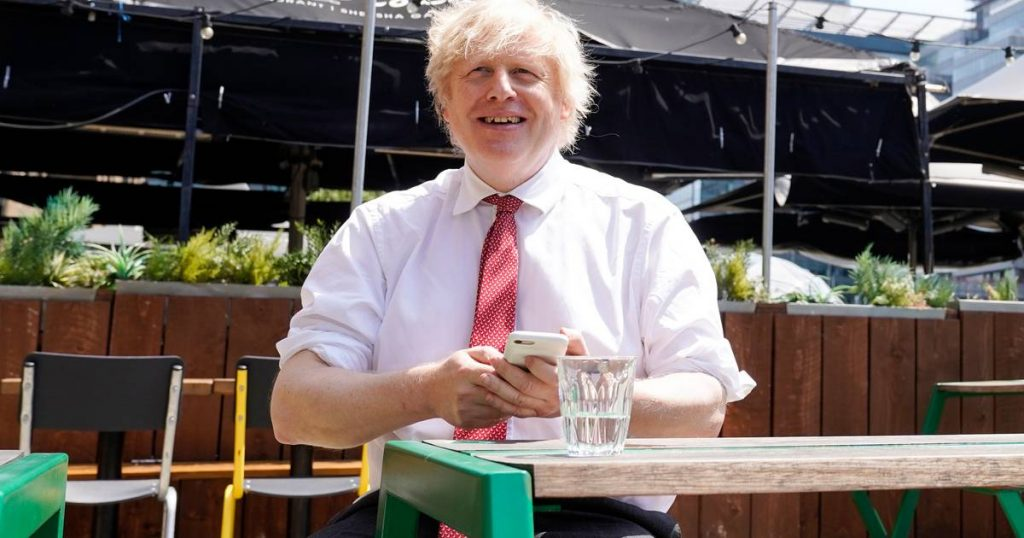 Boris Johnson's personal mobile phone number has been online for 15 years |  abroad