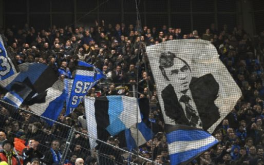 """Club Brugge supporters are angry at their own team: """"money wolves!"""""""