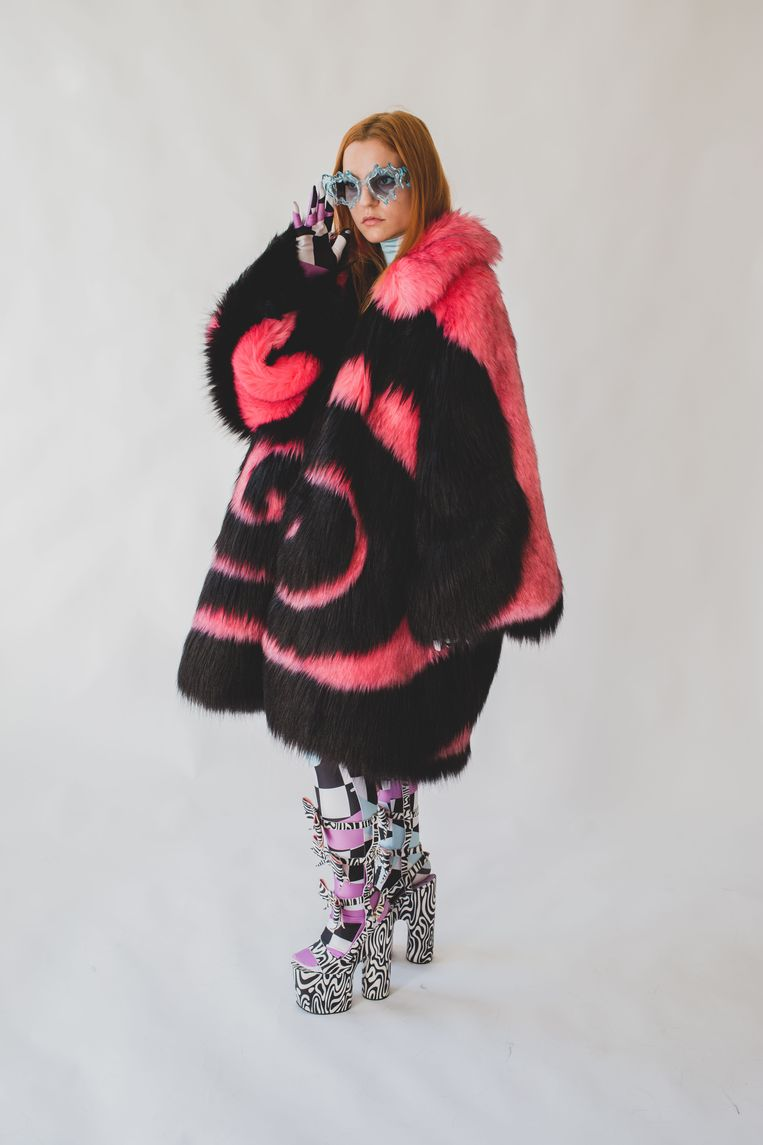 Lady Gaga in the costume of a young designer living in Antwerp: Less coincidence than it appears