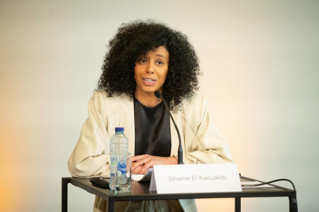 Lawyer Siham Al-Kawakibi opposes the plaintiff ... (Antwerp)