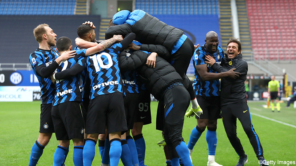 Lukaku beats Nainggolan by the smallest difference, Inter holding steady at 1 |  Serie A TIM 2020/2021