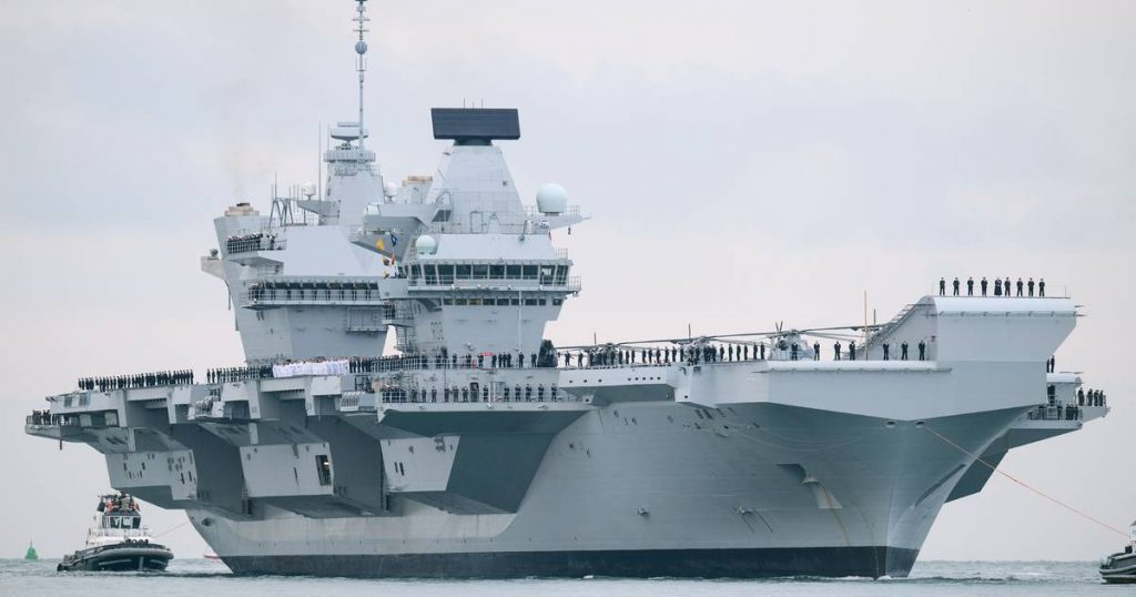 """""""The British send two warships to the Black Sea"""" 