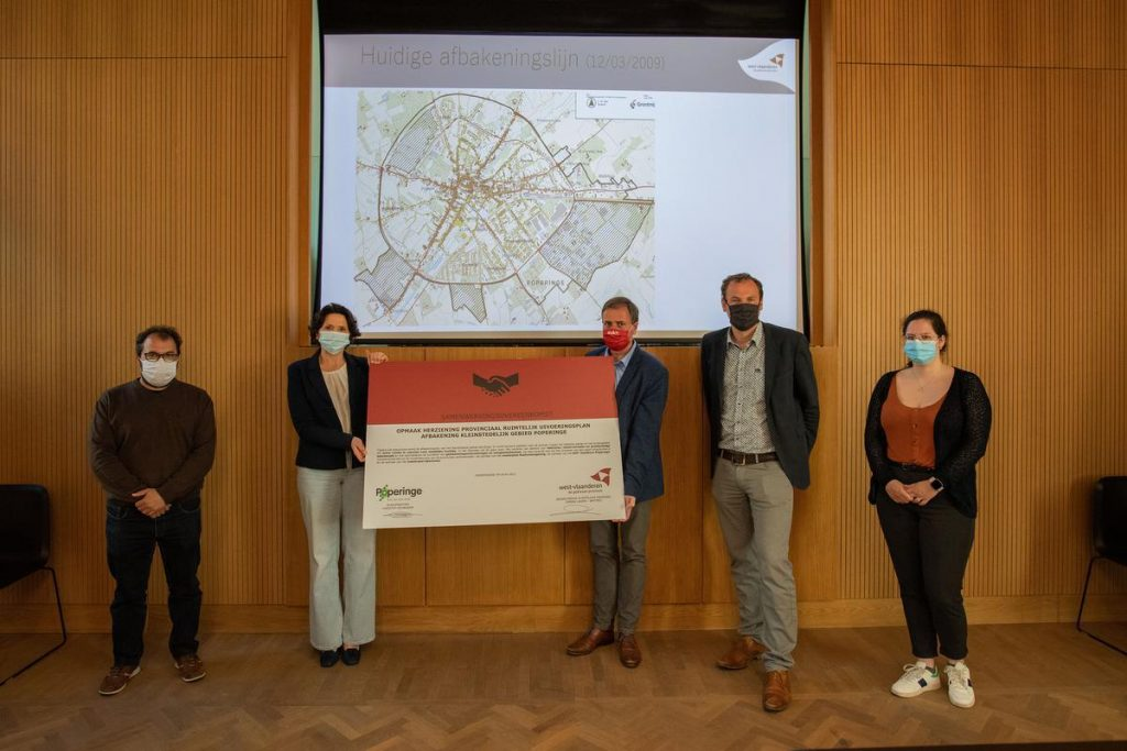 The county is building a spatial future for the city with Poperinge
