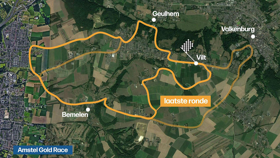 Video: This is what the Amstel Gold Race looks like: Compared to the World Cup |  The Amstel Gold Race