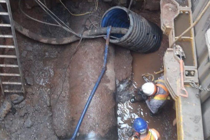 Eén kilometer lang en 300 ton zwaar: opnieuw gigantische vetberg ontdekt in Engels riool
