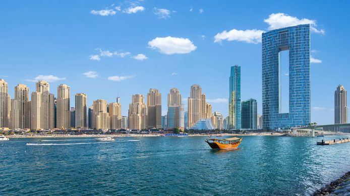 The Address Resort is a great addition to the Dubai skyline.