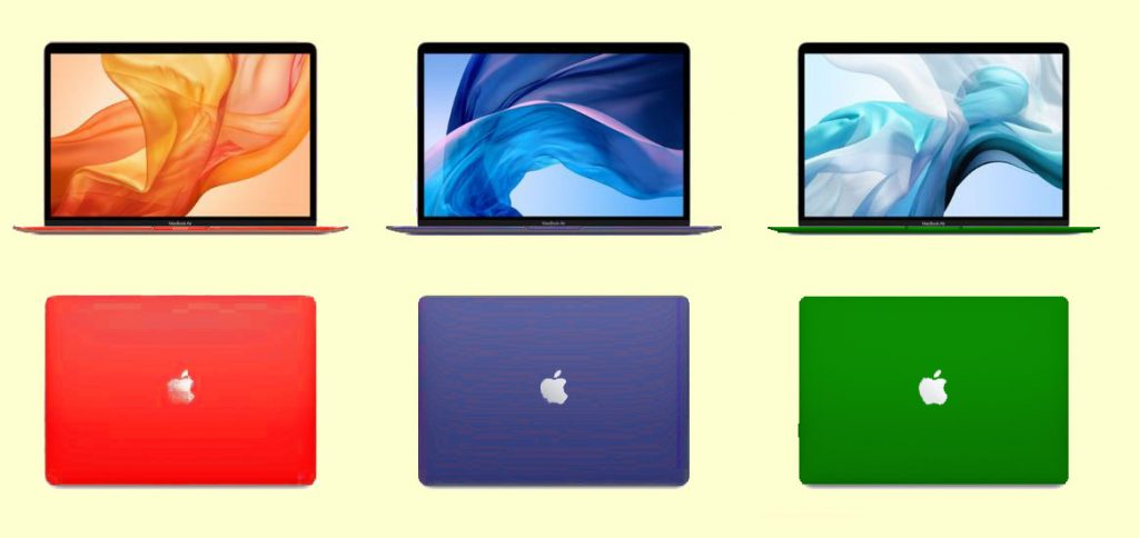 Apple may also come with color MacBooks after the color iMac