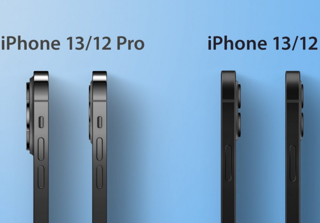The new iPhone and camera island are a bit thicker