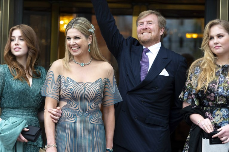 Dutch royals take a festive look from the Treasury: