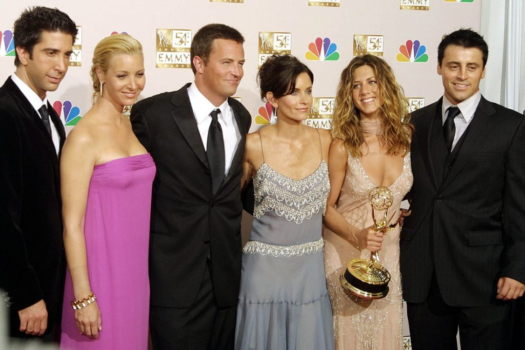 The release date for the `` Friends '' reunion was finally announced, the first track ...
