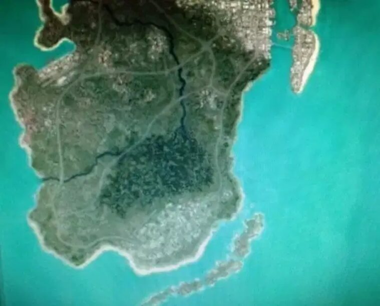 GTA 6 map leaked showing Vice City