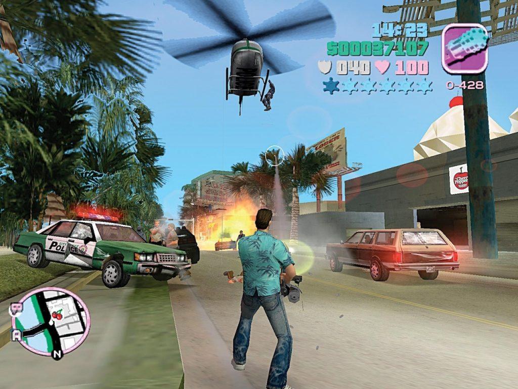 GTA 6 map gelekt en toont Vice City