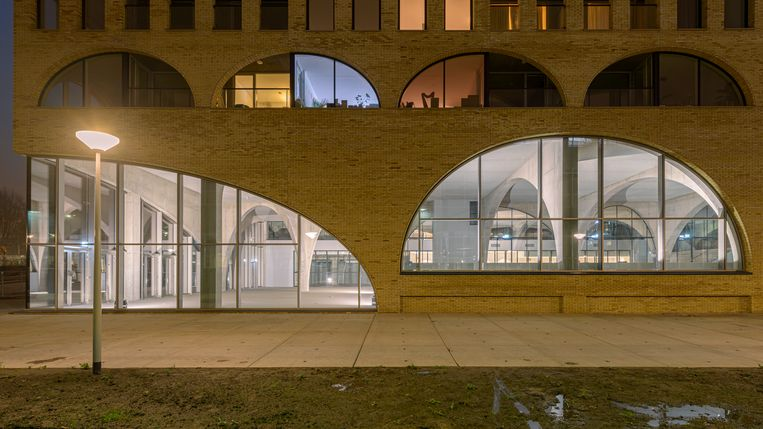 Westbeat's signature arched windows.  Photo by Frans Parthesius