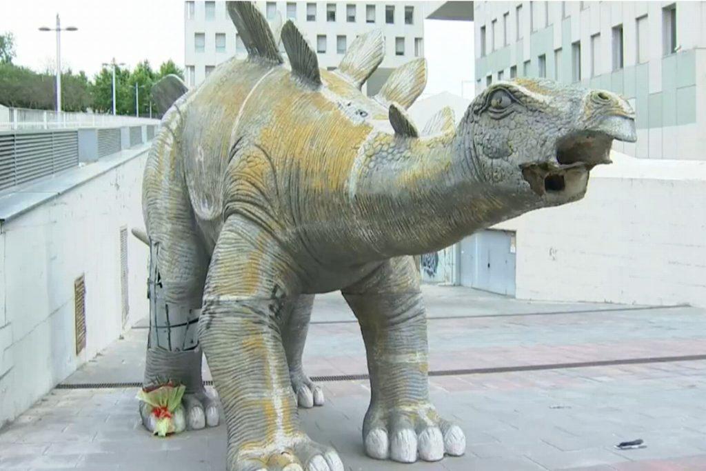 A man found missing in a dinosaur's leg in Spain