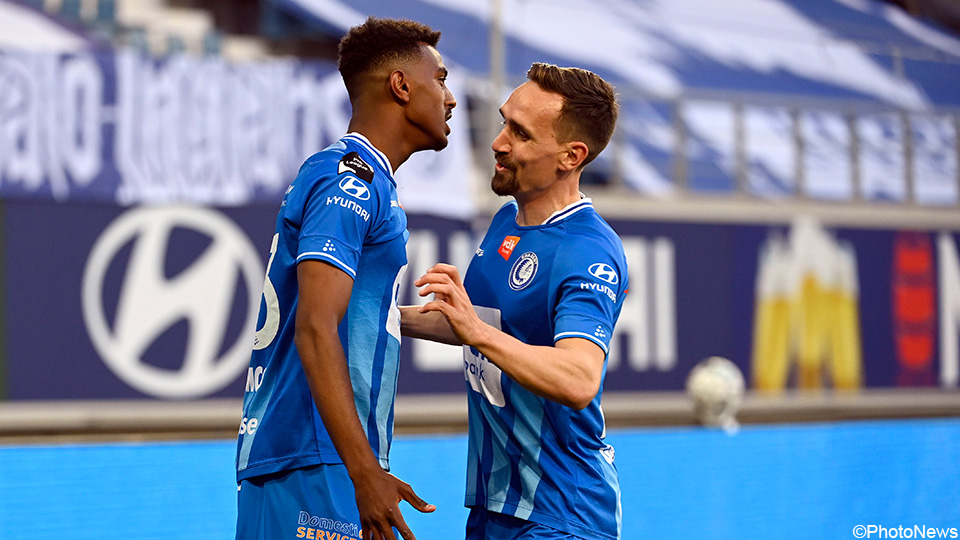 AA Gent sets the standard aside and tackles the 'European Final' in Mechelen |  Jupiler Pro League 2020/2021