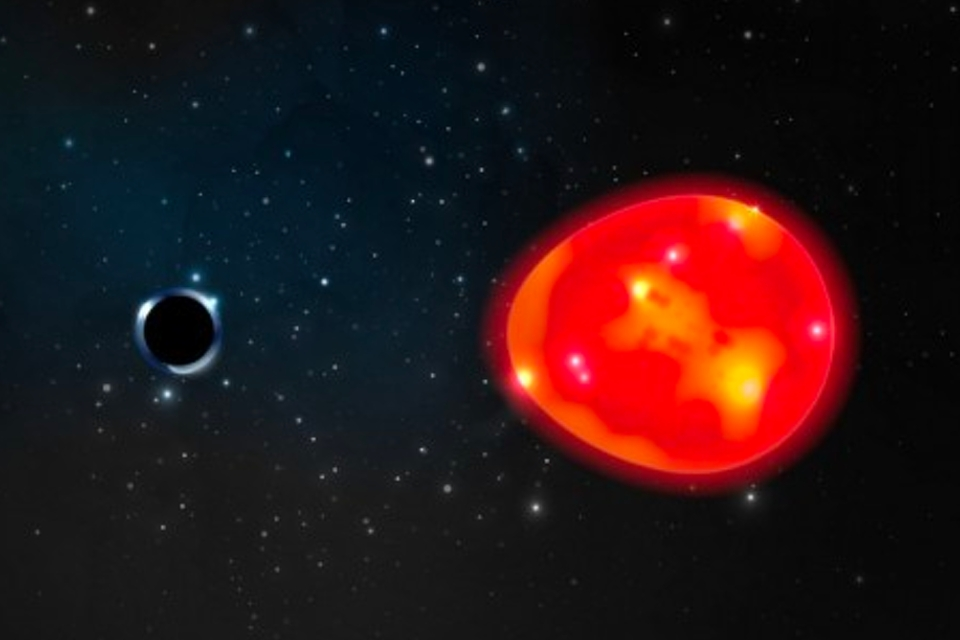 Astronomers discover a small black hole relatively close to Earth