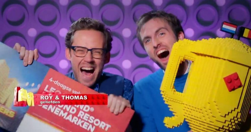 Belgian duo Thomas and Roy win LEGO Masters 2021    TV