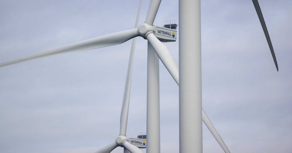 Belgium continues to hope for a solution to French plans for a wind farm close to the border |  The interior