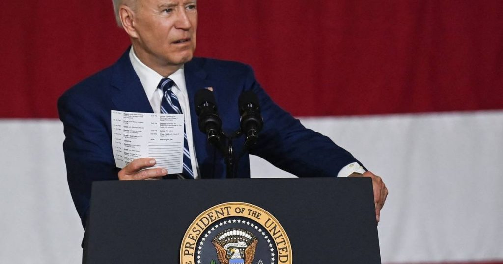 """Biden wants to """"reinvent"""" the US economy with an ambitious 6 trillion budget 