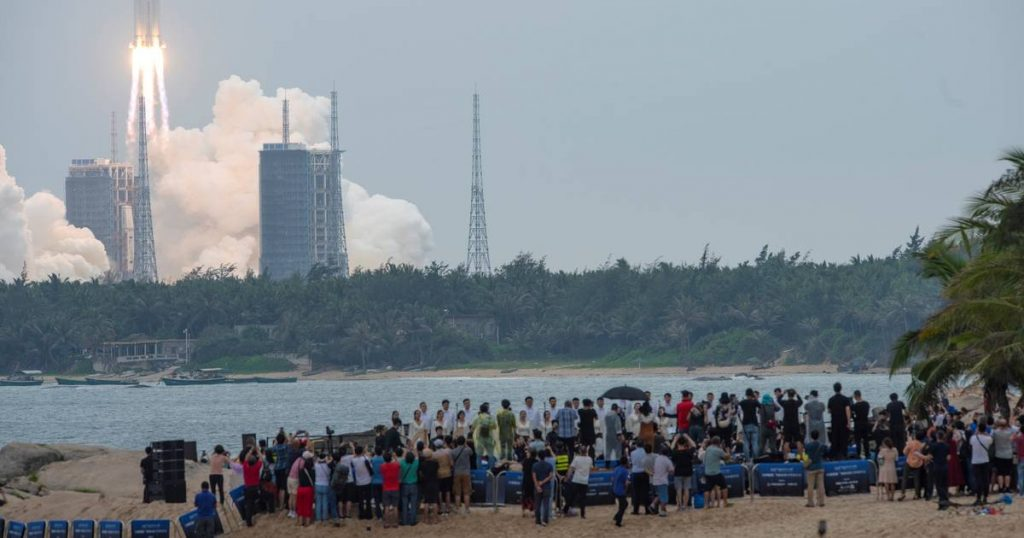 China launches an unmanned cargo spaceship towards a new space station |  abroad