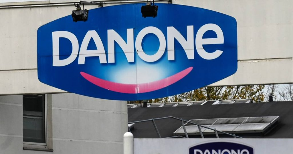 Danone wants to cut 120 office jobs in Belgium |  abroad