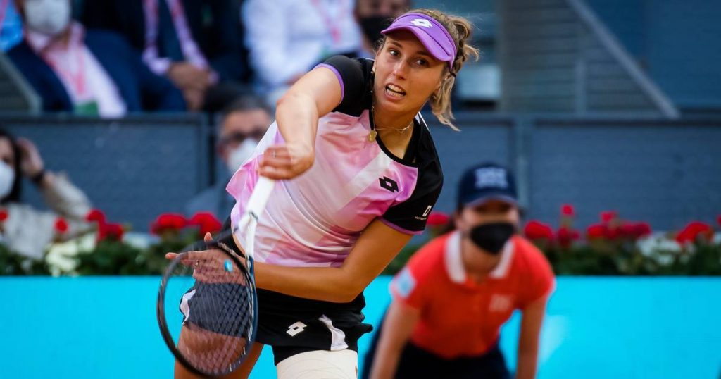 """Elise Mertens graduated in the opening round in Rome: """"No more championship until Roland Garros"""" 