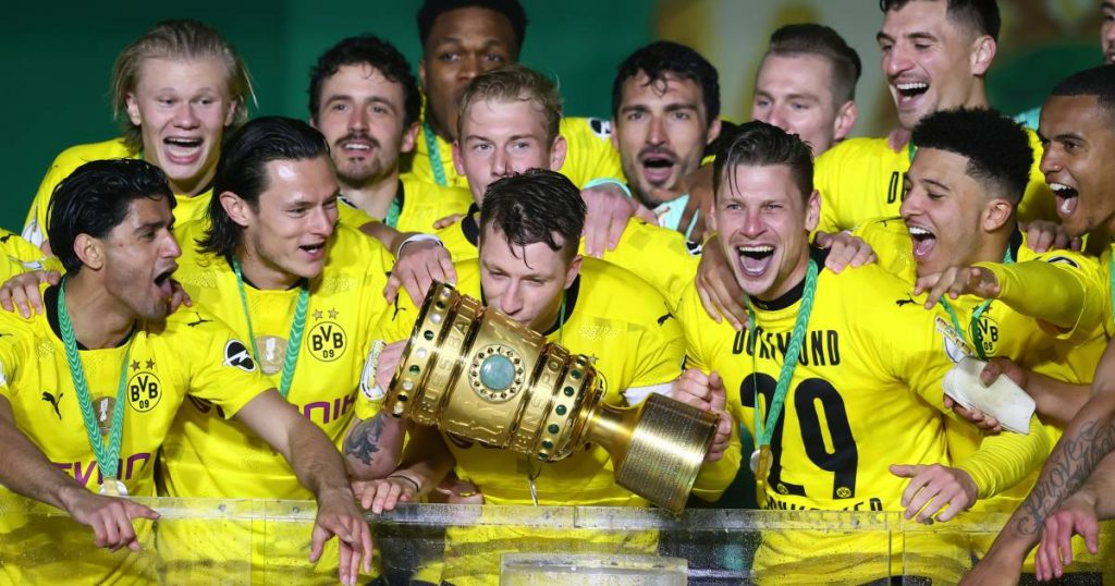 Football talk.  Dortmund wins German Cup for the fifth time - First Circle Takeover |  football