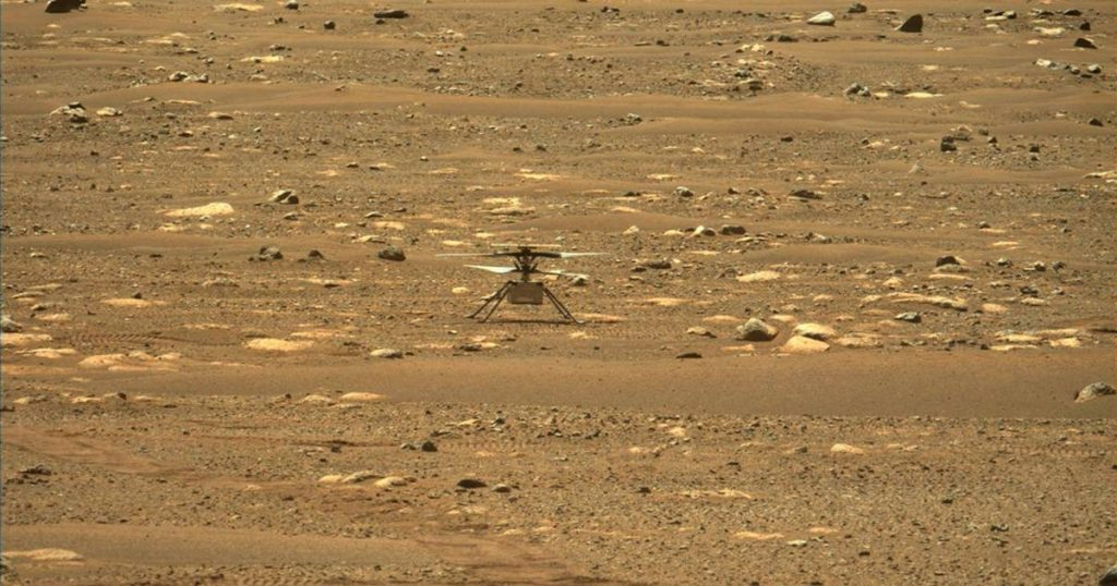 Helicopter creativity can now be heard on Mars |  Science and Planet