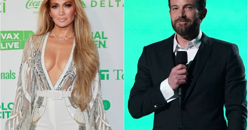 """Jennifer Lopez and Ben Affleck together over the weekend: """"Have a great time together"""" 