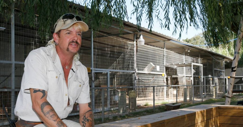 """Joe Exotic reveals prostate cancer: """"My body is tired"""" 