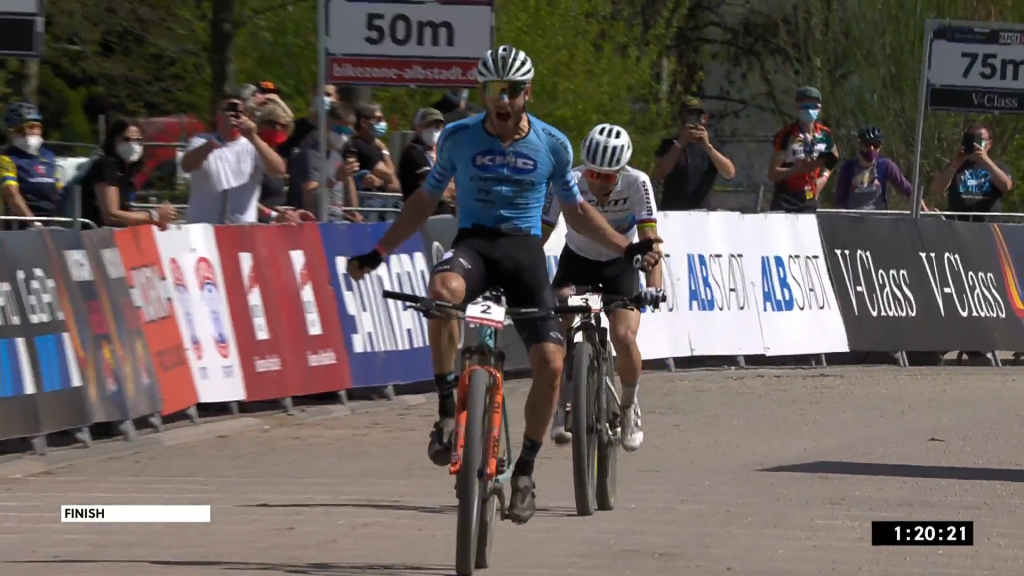 Kuritzky keeps Shorter from record victory, Bedcock wins duel with Van der Boyle |  Mountain bike WB