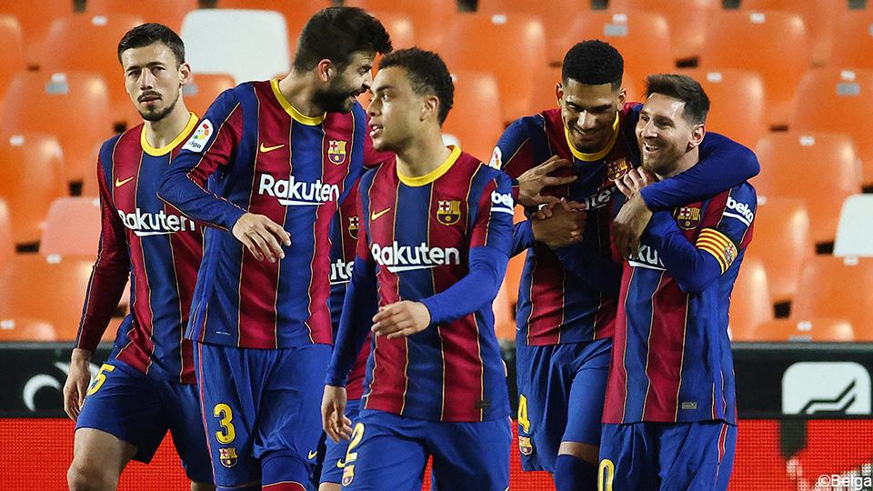 Lionel Messi overtakes Barcelona despite missed penalty |  LaLiga Santander 2020/2021