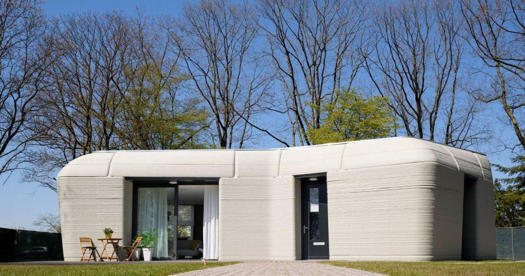 Look inside.  3D Printer Dutch House Gets First Occupants |  Livelihood.