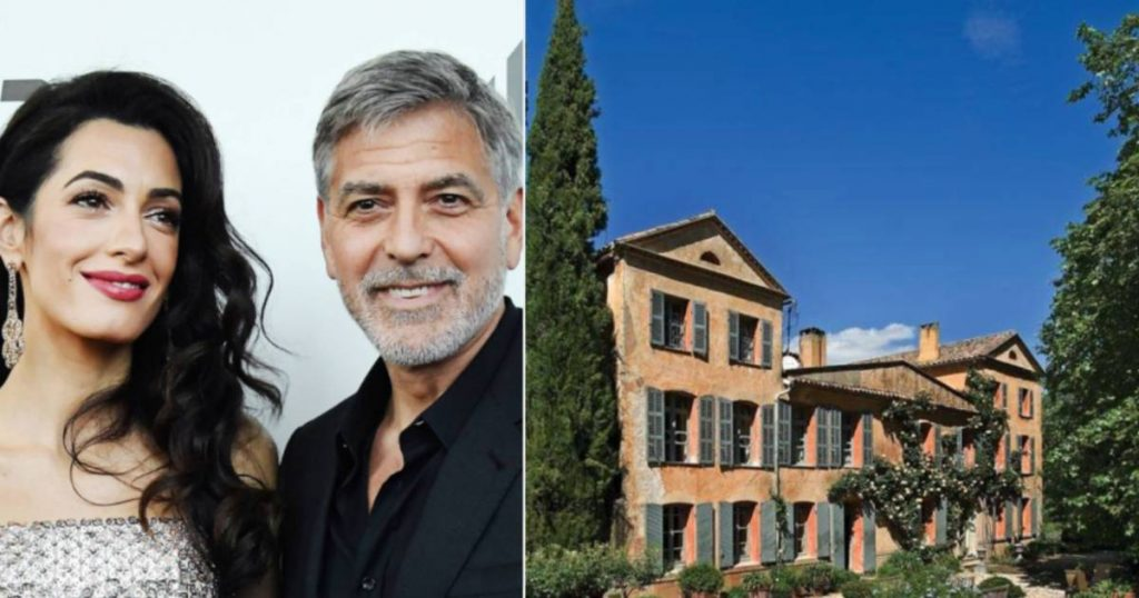 Look inside.  Clooneys Purchase of Nearly 8 Million French Properties with Vineyard |  Look inside at Celebrities