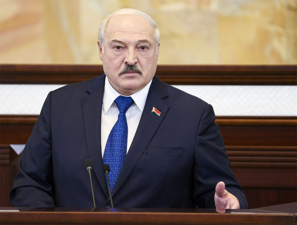 """Lukashenko says that Belarus has acted """"lawfully"""" before ..."""