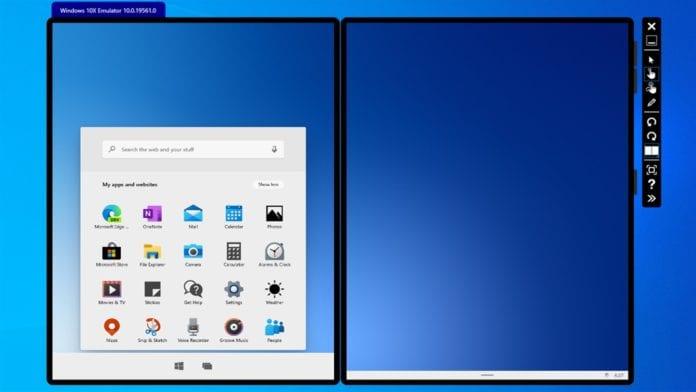 Windows 10x emulator