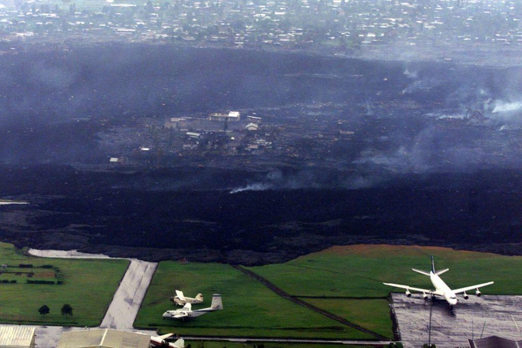 Congolese vulkaan Nyiragongo is uitgebarsten