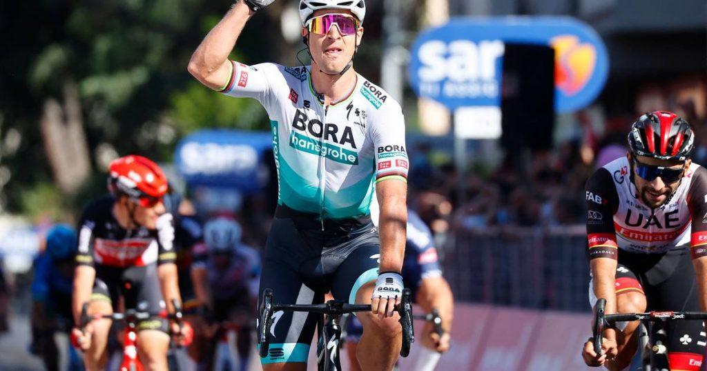 Sagan completes the work of BORA-hansgrohe and finally reaches the mark in Giro |  Giro Ditalia May 8-30