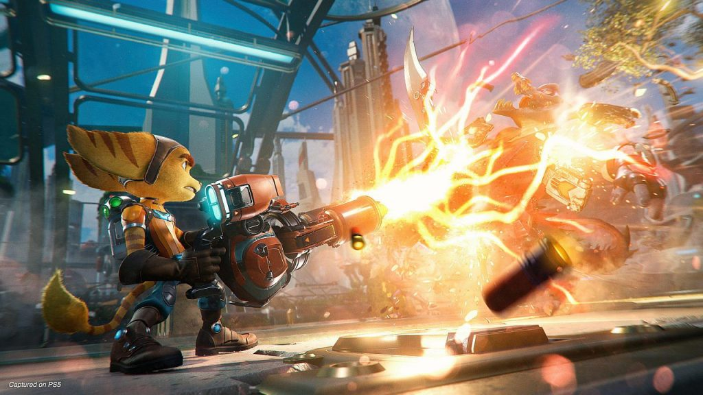 Size Ratchet and Clank: Rift Apart game announced on PS5 and preload date