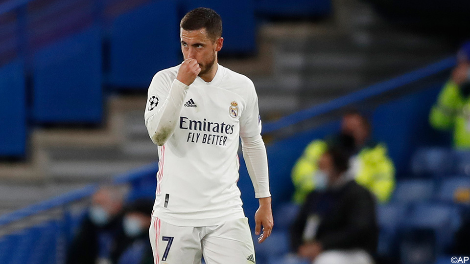 """Spanish pressure hard on Hazard: """"He does not know what the Real is. Goodbye, Eden!""""  But, praise Courtois  Champions League"""
