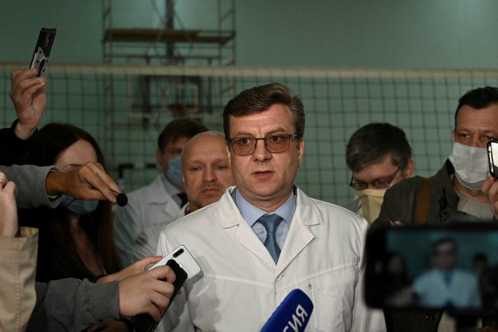 Vermiste Russische dokter die Navalny behandelde is terecht